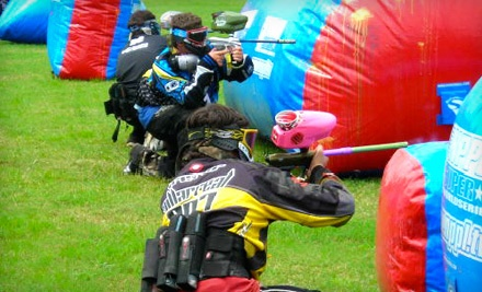 Paintball Package for 2 (a $44 value) - Paintball Knights in St. Hedwig