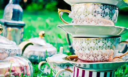 image for Mad Hatters Afternoon Tea For Two or Four from £19.90 at Coffee & Co