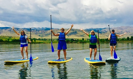 Standup Paddleboard Rental or Lesson from Rocky Mountain Paddleboard (40% Off). Three Options Available.