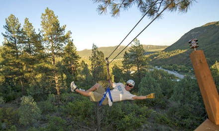 Two-Hour Ponderosa Zipline Tour for Two or Four from Full Blast Adventure Center (Up to 57% Off)