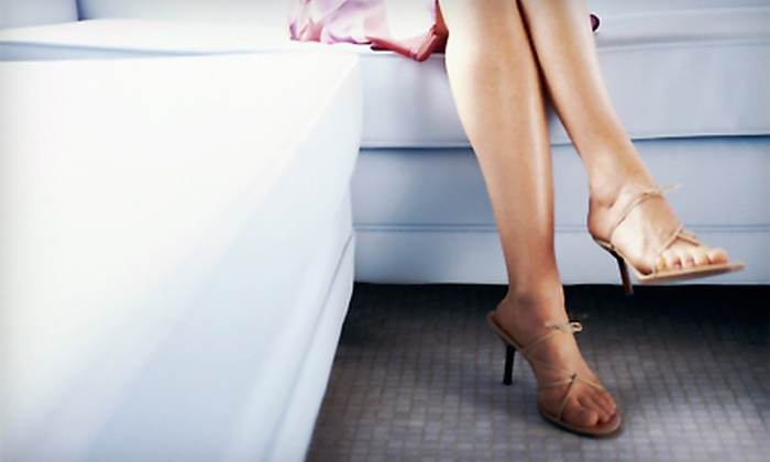 MD Laser Skin Care - Flower Mound: Sclerotherapy Session with Consultation for One or Both Legs at MD Laser Skin Care in Flower Mound (Up to 53% Off)