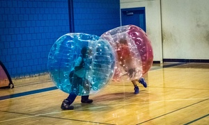 BubbleBall: Game of Bubble Soccer for up to 12 or a One-Hour Bubble Soccer Party for up to 12 at BubbleBall (Up to 63% Off)
