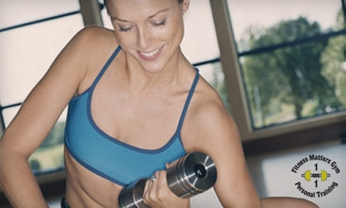 Fitness Matters Gym - Crofton: $40 for Five Group Personal-Training Sessions at Fitness Matters Gym