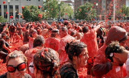 Tomato Battle: