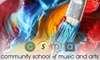 Community School of Music and Arts - Mountain View: Up to 56% Off a Six- to Eight-Week Art Class at the Community School of Music and Arts. Two Class Prices Available.