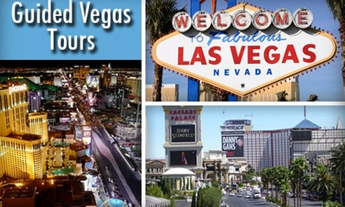 Guided Vegas Tours - Sunrise Manor: $25 For The Famous Las Vegas Strip Walking Tour from Guided Vegas Tours (Up to $55 Value)