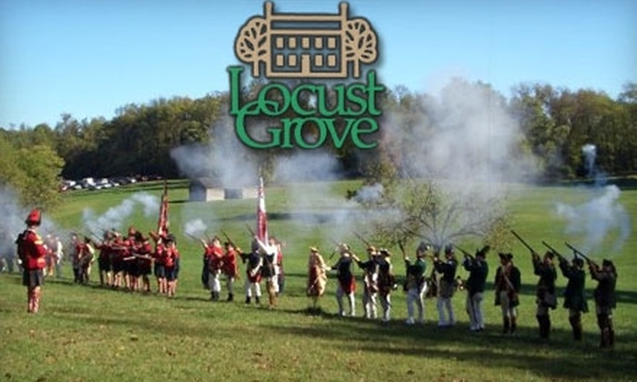 Locust Grove - East Louisville: Half Off Admission to Eighteenth-Century Market Fair at Locust Grove. Choose from Two Options.