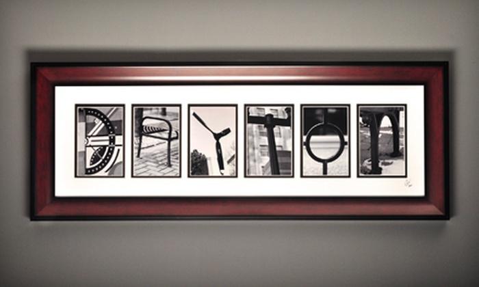 Life in Letters - Beavercreek: $25 for $50 Worth of Framed Letter Artwork at Life in Letters