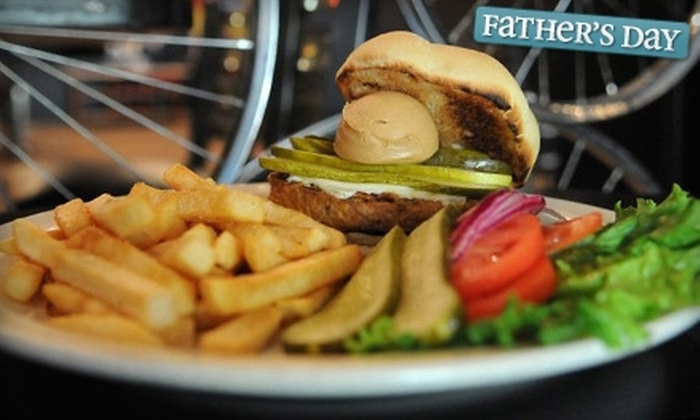Over the Bar Bicycle Café - Pittsburgh: $10 for $20 Worth of Burgers & More at Over the Bar Bicycle Café