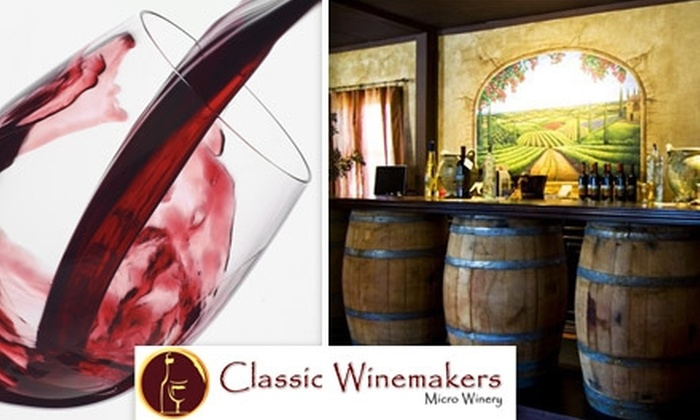 Classic Winemakers - Lacey: $60 for 12 Custom-Crafted Bottles at Classic Winemakers ($144 Value)