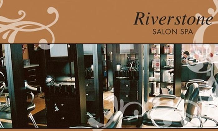 Riverstone Salon Spa - Cooper: $50 Worth of Services at Riverstone Salon Spa