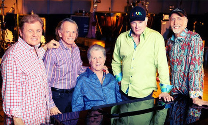The Beach Boys 50th Anniversary Tour - DTE Energy Music Theatre: One Ticket to The Beach Boys 50th Anniversary Tour at DTE Energy Music Theatre in Clarkston on June 30 (Up to $35.55 Value)