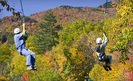 2-Hour Zipline Tour for 2 (an $89 value each) and 2 Individual or Group Pictures (a $15 value each; a $208 total value) - Red River Gorge Zipline in Campton