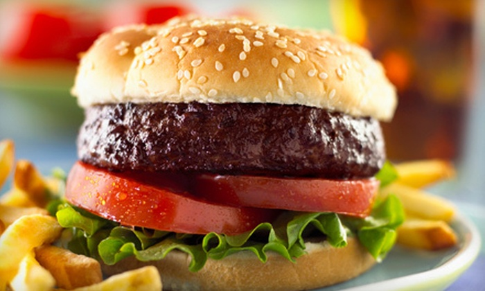 Captain Jack's on Prior Lake - Prior Lake: $20 for Pub Meal with Draft Beers and Burgers or Sandwiches for Two at Captain Jack's on Prior Lake (Up to $39.98 Value)