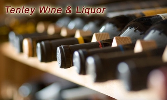 Tenley Wine & Liquor - AU Park - Friendship Heights - Tenley: $10 for $20 Worth of Wine and Liquor at Tenley Wine & Liquor