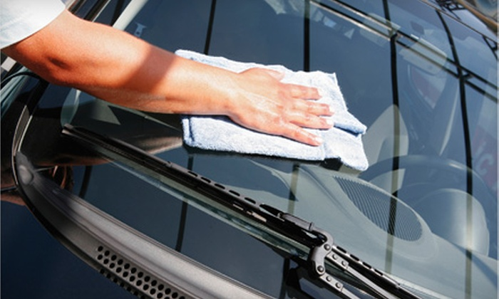 Millbrae Express Car Wash - Millbrae: $45 for Express Detail Car Wash and High Speed Polish with Carnauba Wax at Millbrae Express Car Wash (Up to $95.95 Value)