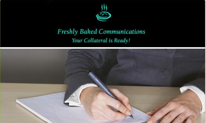 Freshly Baked Communications - Chicago: $15 for Resume and Cover Letter Revision (70% Off)