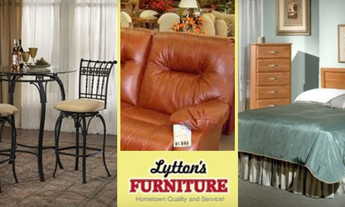 Lytton's Furniture - Park City: $40 for $175 Worth of Furniture and Mattresses at Lytton's Furniture