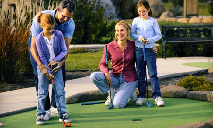 Marine Park - Flatrock: Beach Outing with Mini Golf for Two or Four at Marine Park in Pouch Cove (Up to 53% Off)