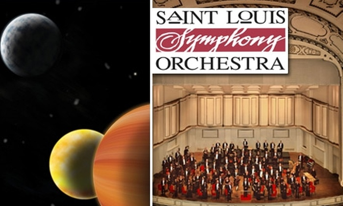 "St. Louis Symphony Orchestra - Grand Center: $26 Grand-Circle Ticket to ""The Planets"" at Saint Louis Symphony Orchestra ($53 Value). Buy Here for March 6 at 8 p.m. See Below for Additional Seating and Date Option."