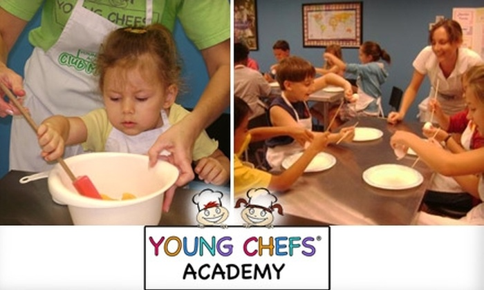 Young Chefs Academy - Battlefield: $15 for One Cooking Class at Young Chefs Academy