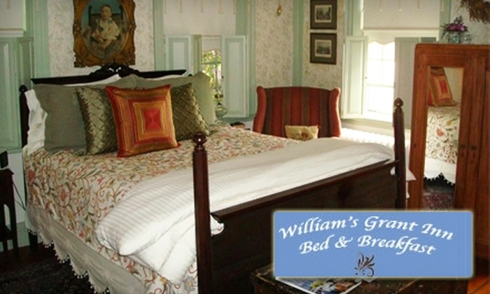 William's Grant Inn Bed & Breakfast - Bristol: $69 for a One-Night Stay at William's Grant Inn Bed & Breakfast in Bristol