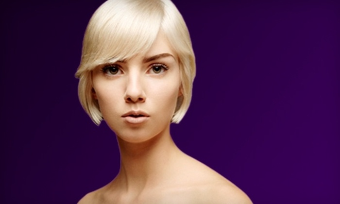 Salon Wow - Perry: $30 for $60 Worth of Hair, Nail, and Waxing Services at Salon Wow