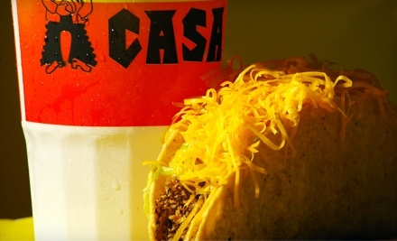 $8 Groupon to Taco Casa - Taco Casa in Abilene