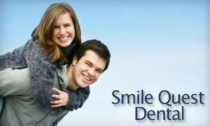 Smile Quest Dental - Rocklin: $69 for a Dental Exam and Cleaning, X-rays, Fluoride Treatment, and Take-Home Whitening Kit at Smile Quest Dental in Rocklin ($542 Value)