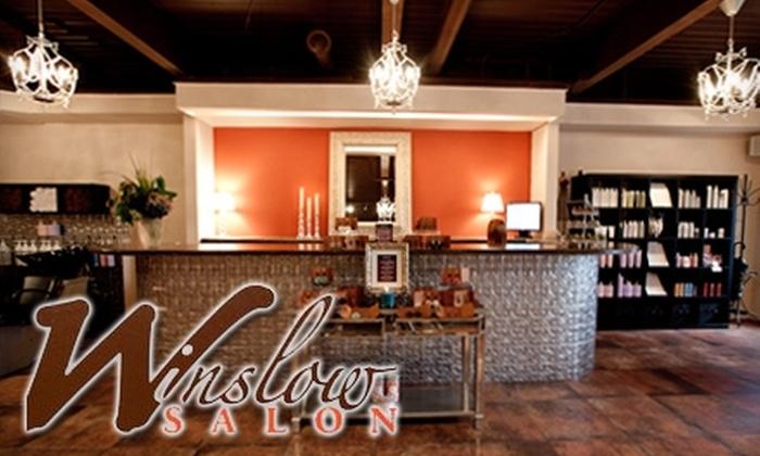 Winslow Salon - Market: $44 for $90 Worth of Women's Hair Services or $20 for $40 Worth of Men's Hair Services at Winslow Salon in Kirkland