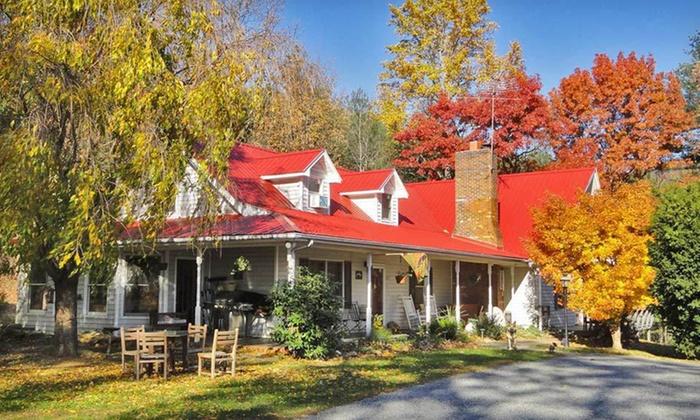 Blue Ridge Manor Bed & Breakfast - Cana, VA: Two-Night Stay for Two at Blue Ridge Manor Bed & Breakfast in Cana, VA