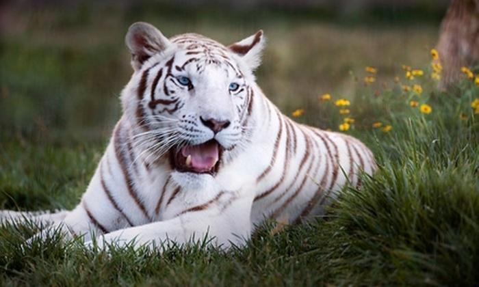 Tanganyika Wildlife Park - Goddard: $13 For Two General Admission Tickets to Tanganyika Wildlife Park in Goddard
