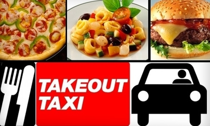 Takeout Taxi of Kentucky - Central Business District: $12 for $25 Worth of Food and Delivery Services from Takeout Taxi of Kentucky