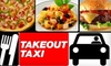 Takeout Taxi of Kentucky: $12 for $25 Worth of Food and Delivery Services from Takeout Taxi of Kentucky