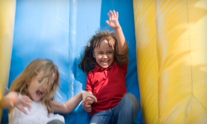 Bounce House - Knoxville: Admission, Pizza, and a Drink or 90-Minute Party Package at Bounce House