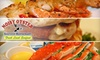 Noisy Oyster Seafood Restaurant  - Multiple Locations: $7 for $15 Worth of Fresh Seafood Fare and Drinks at Noisy Oyster Seafood Restaurant