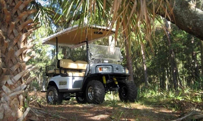 Daufuskie Discoveries - Multiple Locations: $99 for Day Trip for Two and Four-Hour Self-Guided Golf-Cart Tour of Daufuskie Island from Daufuskie Discoveries ($199 Value)