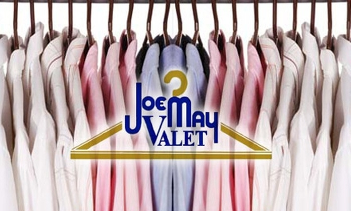 Joe May Valet Cleaners - Multiple Locations: $15 for $35 Worth of Dry Cleaning at Joe May Valet Cleaners