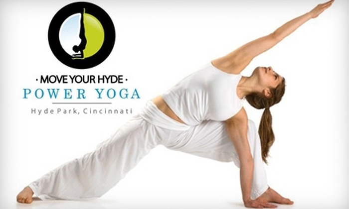 Move Your Hyde Power Yoga - Hyde Park: $15 for Three Power Yoga Classes at Move Your Hyde Power Yoga