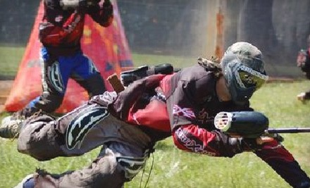 Wolverine Paintball: Admission, Rental Markers, Safety Masks, All-Day Air Refills, and 200 Paintballs for 1 - Wolverine Paintball in Hendersonville