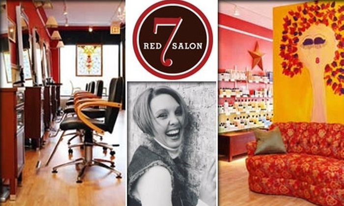Red 7 Salon - Chicago: $50 for $100 Worth of Partial Highlights from Red 7 Salon