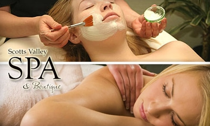 Scotts Valley Spa & Boutique - Scotts Valley: $40 for $80 Worth of Relaxing Spa Services at Scotts Valley Spa & Boutique