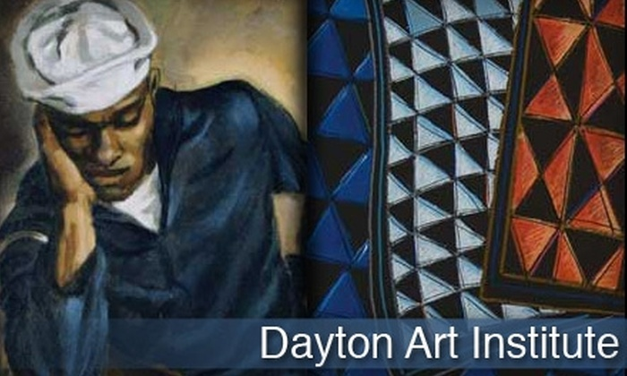 The Dayton Art Institute - Grafton Hill: $5 for One Admission to Willis 'Bing' Davis and Arthur Primas Exhibits at The Dayton Art Institute (Up to $10 Value)