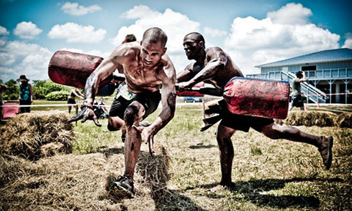 Spartan Race - Manlius: $49 for an Extreme Super-Spartan Mud Race on October 27 and 28 from Spartan Race Marseilles (Up to $145 Value)
