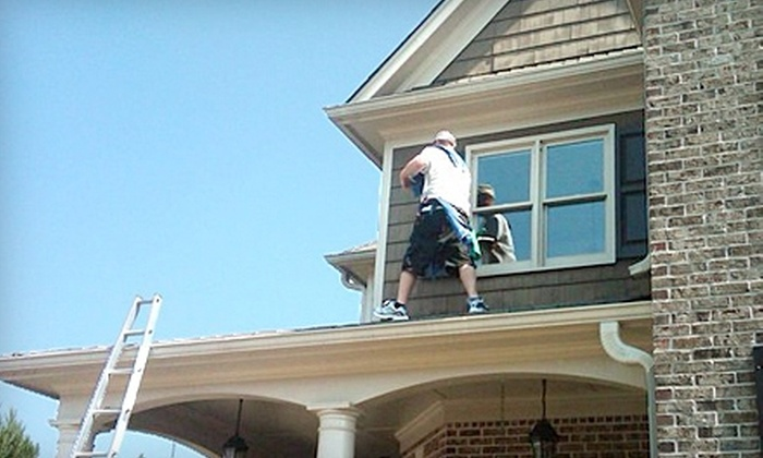 Window Genie - Chattanooga: $55 for $125 Worth of Window-Cleaning and Pressure-Washing Services from Window Genie