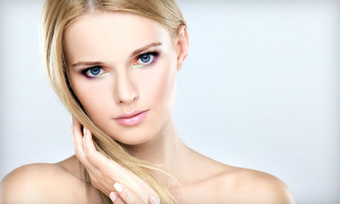 Merle Norman of Brentwood - Brentwood: $45 for a Hot-Stone or Microdermabrasion Facial at Merle Norman of Brentwood (Up to $125 Value)