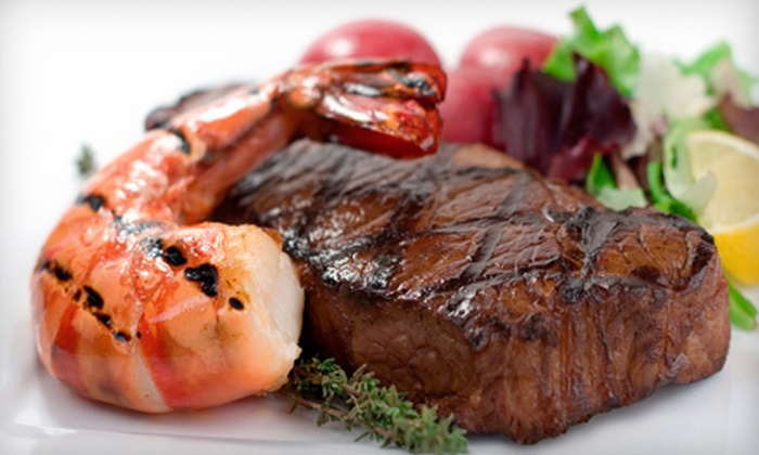 Asa2 Steak and Seafood - Altos Del Mar: Grilled Dinner with Appetizer and Wine for Two or Four at Asa2 Steak and Seafood in Surfside (Up to 63% Off)
