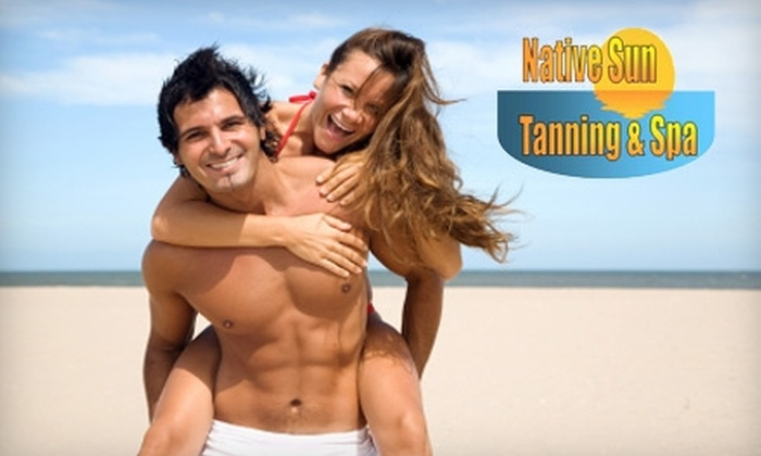 Native Sun Tanning & Spa - Bermuda: $44 for One-Month Premium Glow Unlimited Tanning Package or Three Mystic Tan Sessions at Native Sun Tanning & Spa in Midlothian (Up to $89 Value)