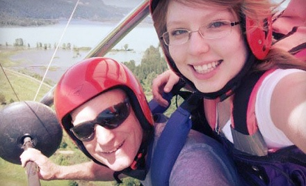 Tandem Hang-Gliding Experience Monday-Friday (a $190 value) - Vancouver Hang Gliding in