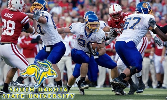South Dakota State University - Brookings: $5 for One Adult General-Admission Ticket to a South Dakota State University Jackrabbits Football Game in Brookings ($15 Value). Choose from Two Dates.